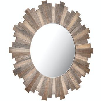 Accents Stockholm natural wood mirror