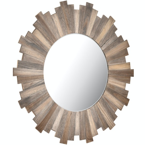 Innova Stockholm natural wood mirror