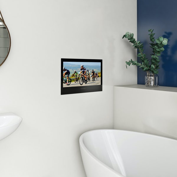 ProofVision 19 inch black bathroom TV