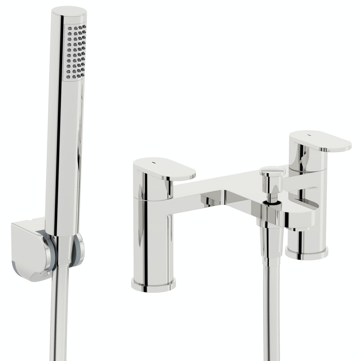 Kirke Curve bath shower mixer tap