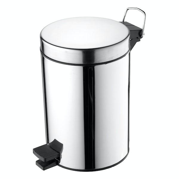 Ideal Standard 3 litre pedal bin