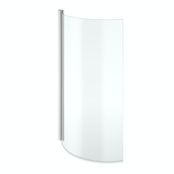6mm curved shower bath screen for maine baths