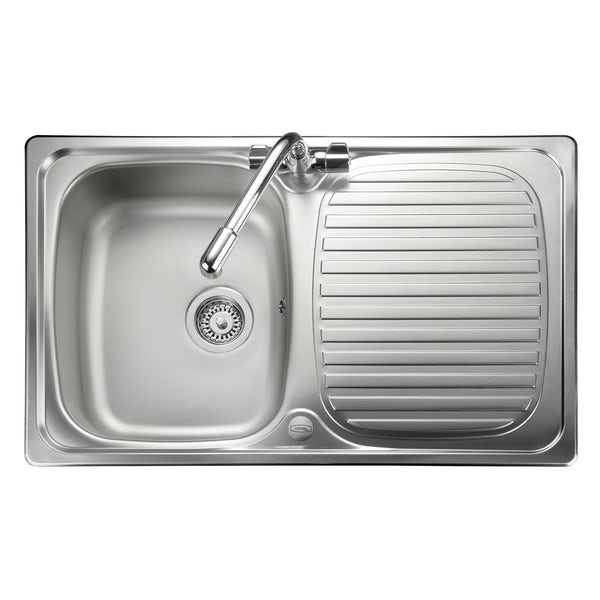 Leisure Compact 1.0 bowl reversible kitchen sink