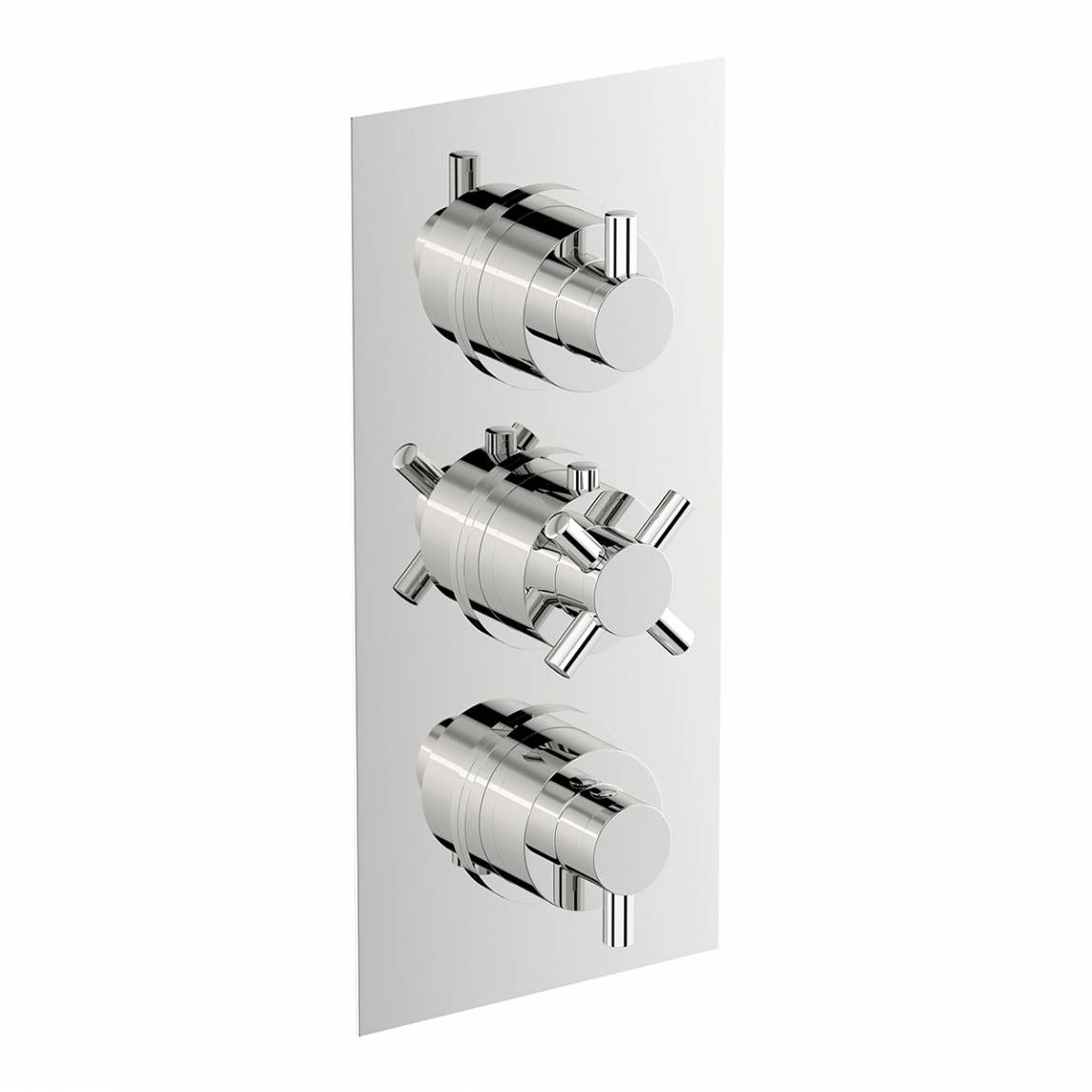 Mode Tate square triple thermostatic shower valve