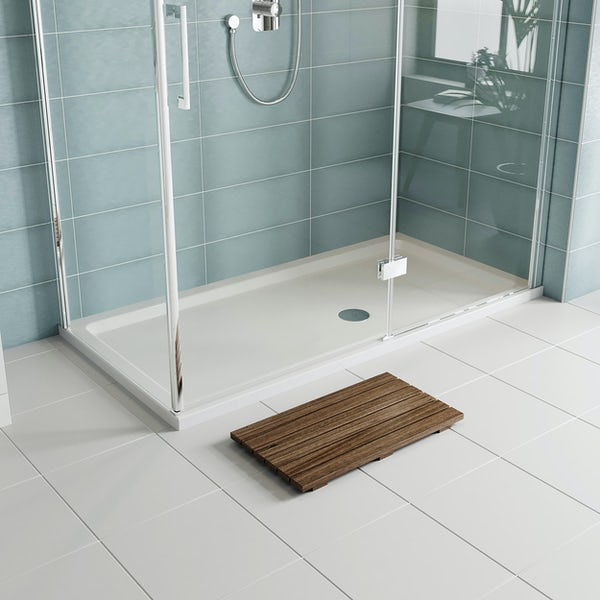 Orchard rectangular stone resin shower tray 1400 x 700 and over