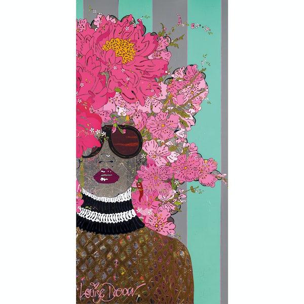 Louise Dear Kiss Kiss Bam Bam acrylic shower wall panel 2440 x 1200mm
