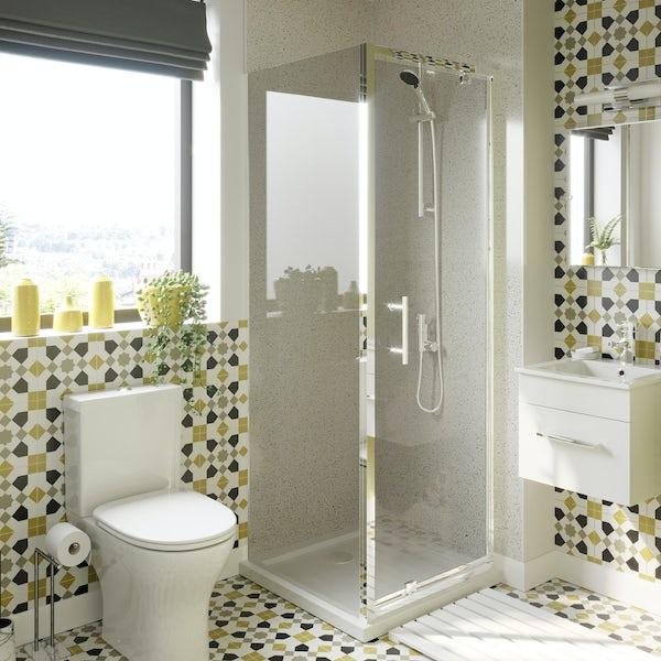 Orchard Vertical shower bar valve