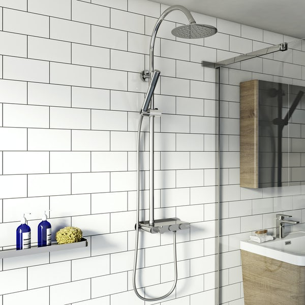 Mode Foster exposed thermostatic mixer shower