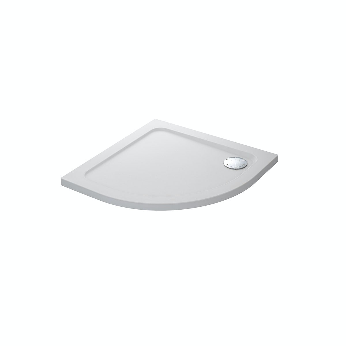 Mira Flight Safe low level anti-slip quadrant shower tray