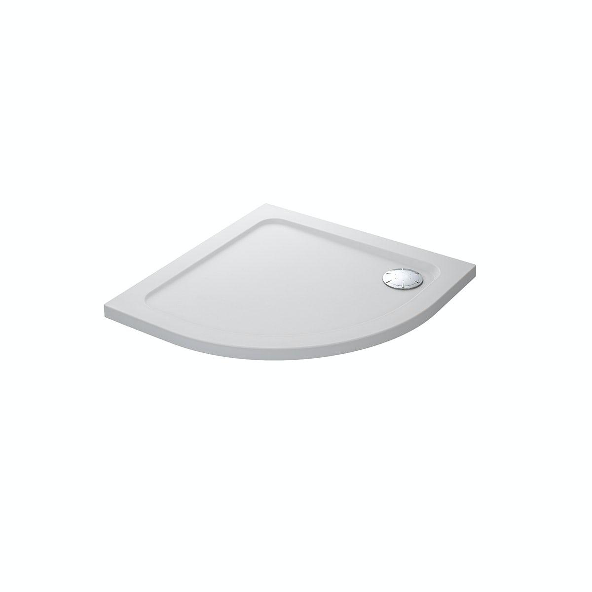 Mira Flight Safe low level anti-slip quadrant shower tray