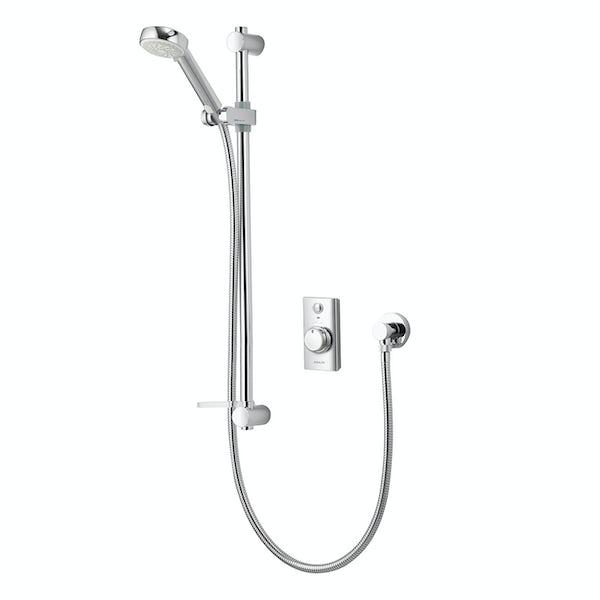 Aqualisa Visage Q Smart concealed shower standard with adjustable handset