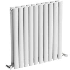 Main image for Mode Tate white double horizontal radiator 600 x 600
