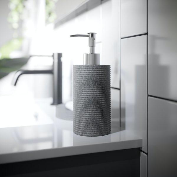 Accents grey soap dispenser