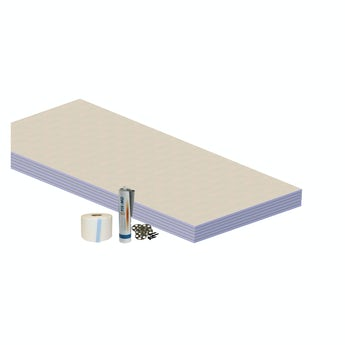 Orchard waterproofing wall kit for wet rooms 4.32 sq m