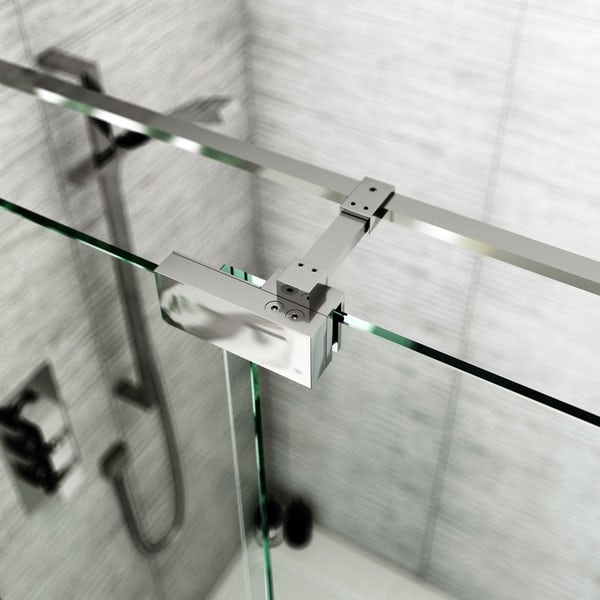 Cleaning Guide How To Clean Your Glass Shower Doors Properly: Mode Carter Premium 8mm Easy Clean Right Handed Sliding