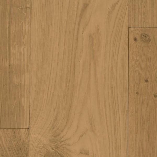 Tuscan Grande white smoked oak multiply flat sanded engineered wood flooring
