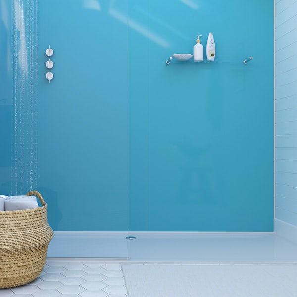 Showerwall Acrylic Azure shower wall panel