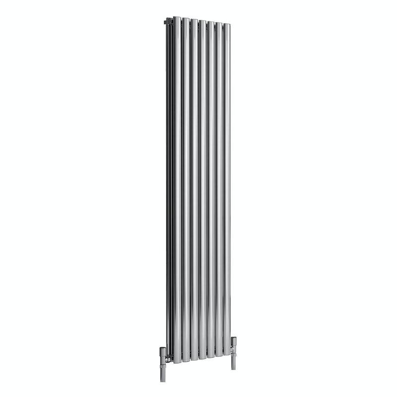 Reina Nerox double polished stainless steel designer radiator 1800 x 531