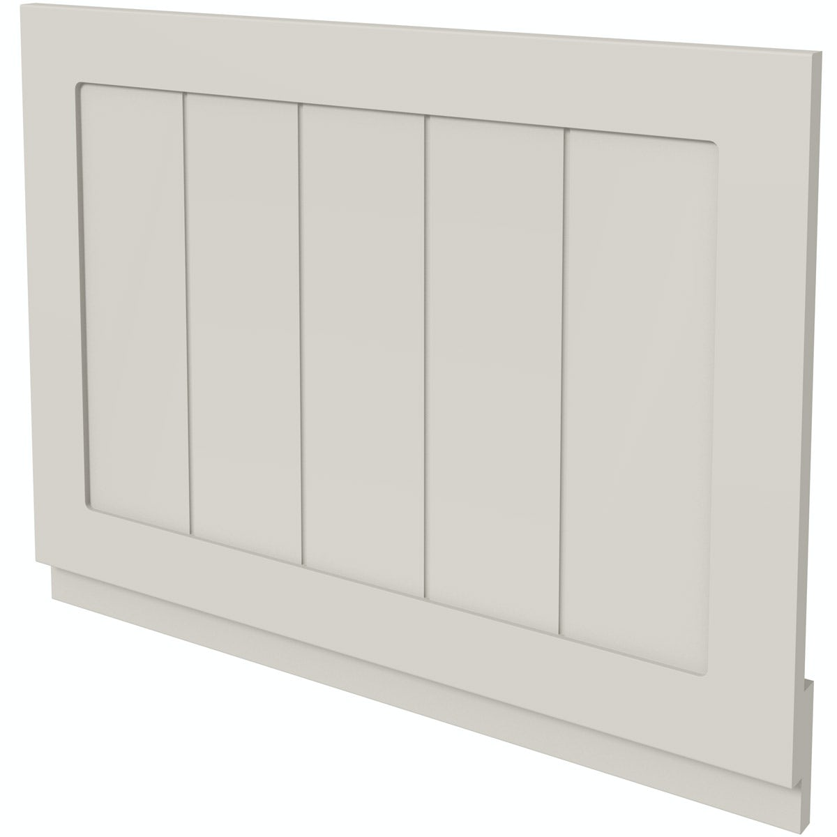 The Bath Co. Dulwich stone ivory wooden bath end panel 700mm