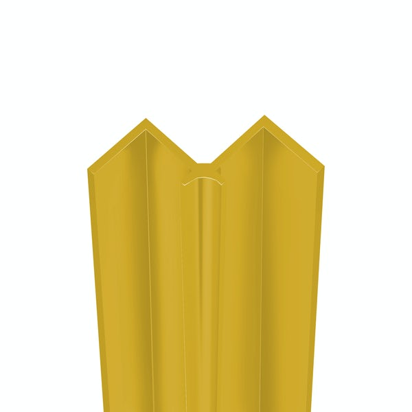 Showerwall Antique Gold internal corner profile for waterproof wall panels