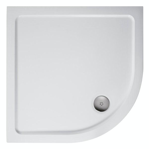 Ideal Standard low profile quadrant shower tray 900