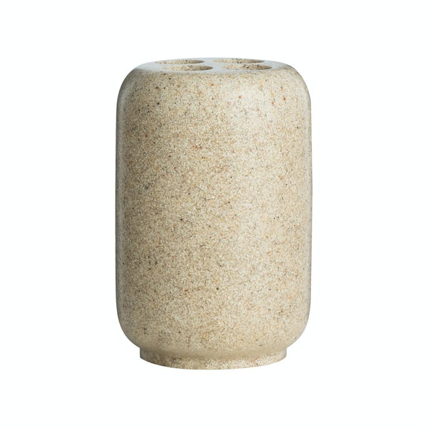 Canyon natural stone effect toothbrush holder