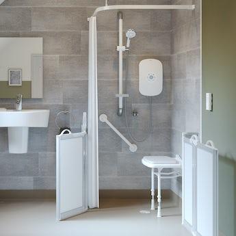 AKW Shower curtain 2135 x 2135