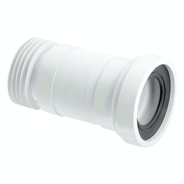 McAlpine Straight flexible pan connector 170mm-410mm