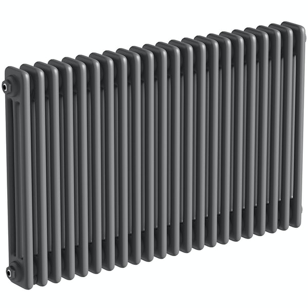 The Heating Co. Corso anthracite grey 3 column radiator