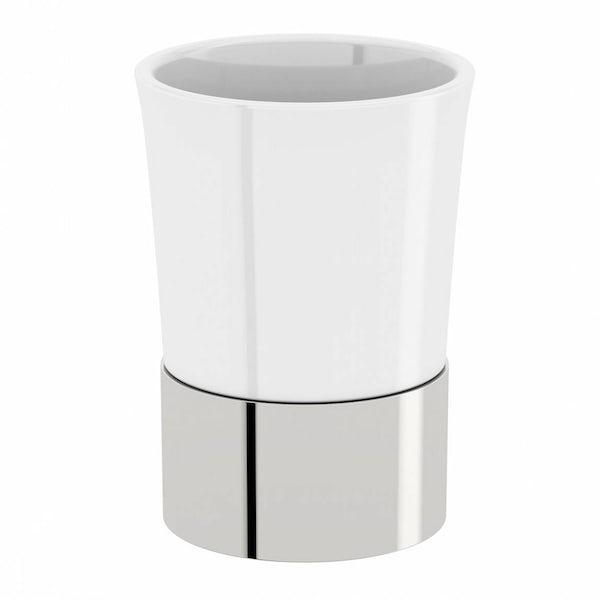 Options Freestanding Ceramic Tumbler