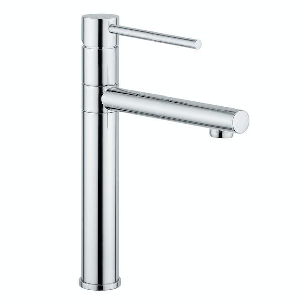 Leisure Aquareach single lever kitchen tap