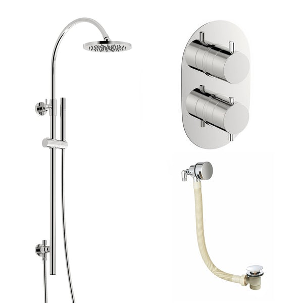 Mode Harrison thermostatic shower valve shower bath set