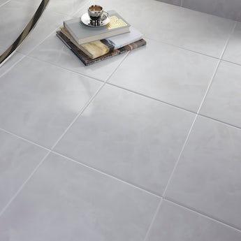 British Ceramic Tile Polar white gloss tile 331mm x 331mm