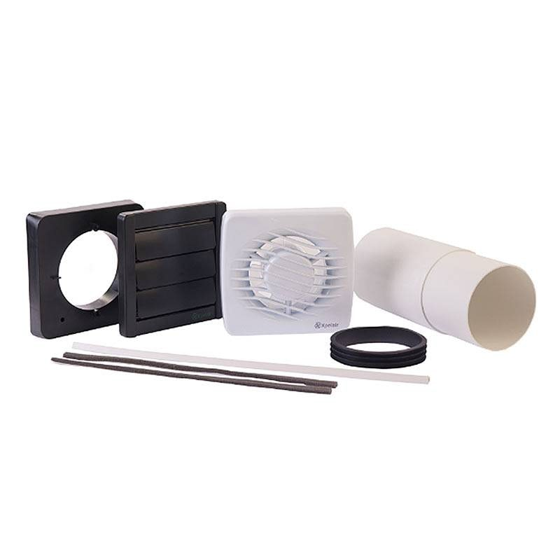 Xpelair Bathroom Timer Fan With Fitting Kit Victoriaplum Com