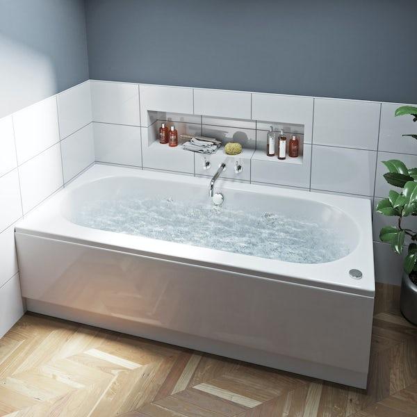 Mode Islington double end 6 Jet whirlpool bath 1800 x 800