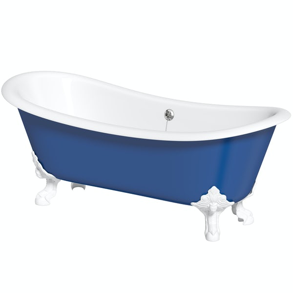 Artist Collection Midnight Blue cast iron bath