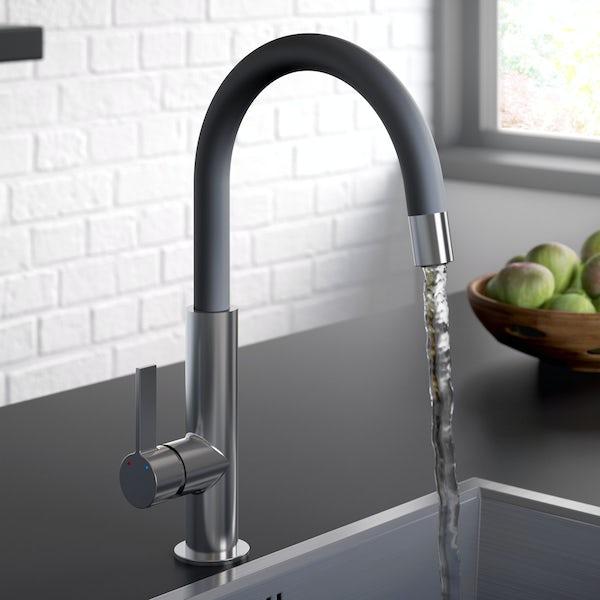 Bristan Melba black kitchen tap