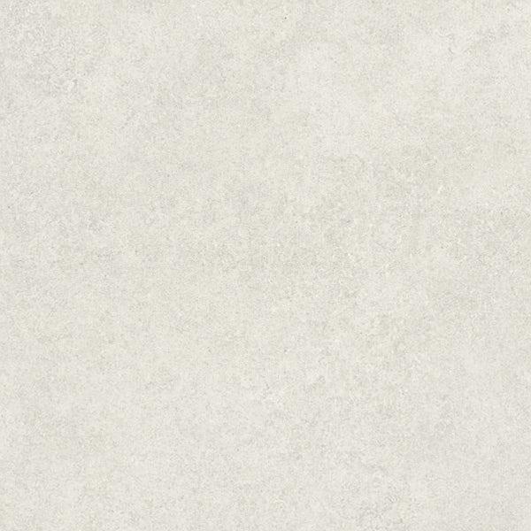 Fontana light grey flat stone effect matt wall and floor tile 600mm x 600mm