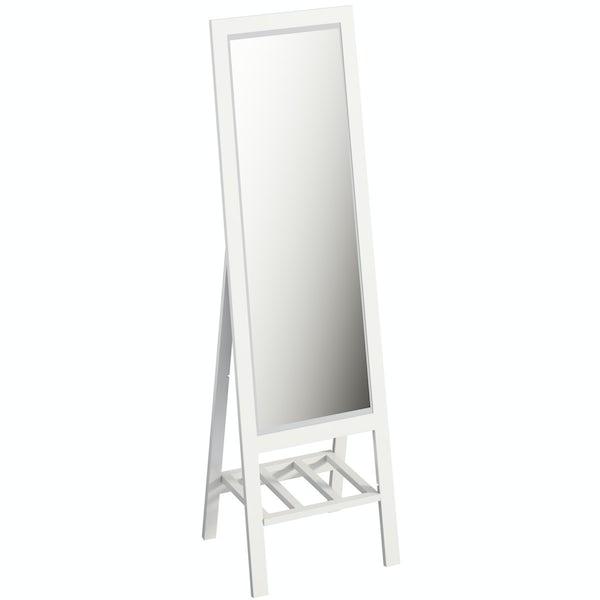 Innova Moda white dressing mirror