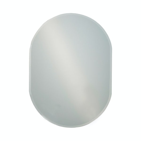 Showerdrape Lincoln 60cm x 45cm oval mirror