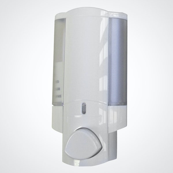 Dolphin commercial single shower dispenser white