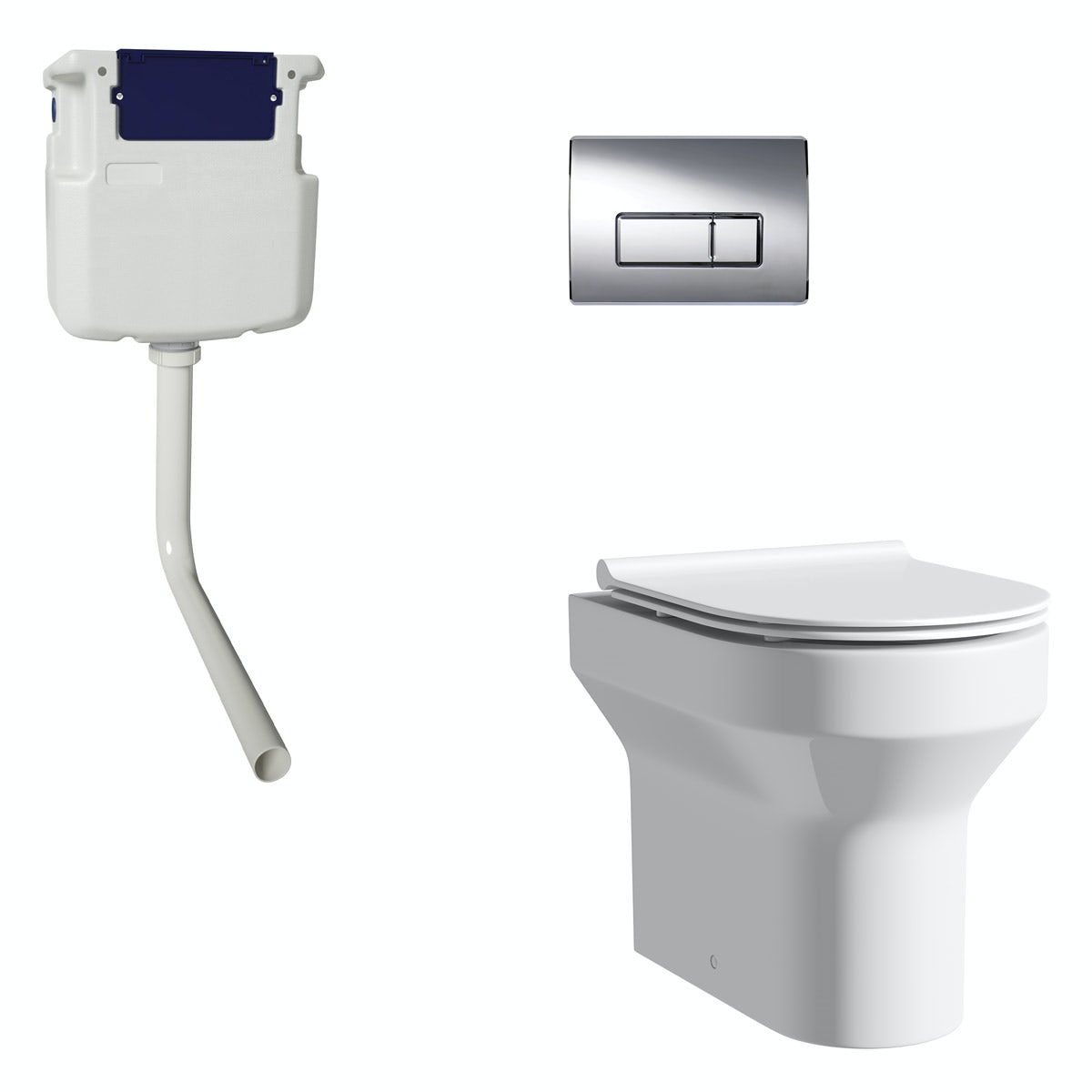 Orchard Wharfe Back To Wall Toilet With Slim Soft Close