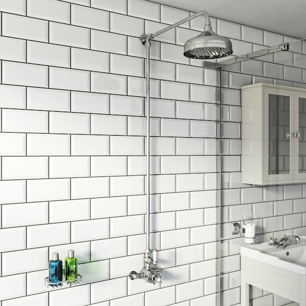 Winchester exposed riser rail shower system