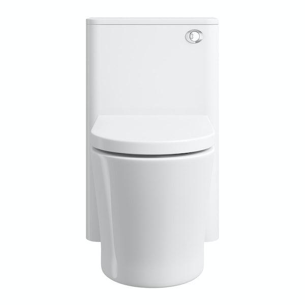 Mode Ellis white back to wall toilet unit