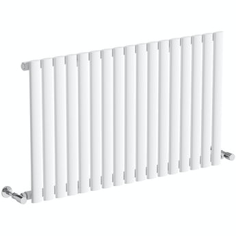 Mode Tate white single horizontal radiator 600 x 1000