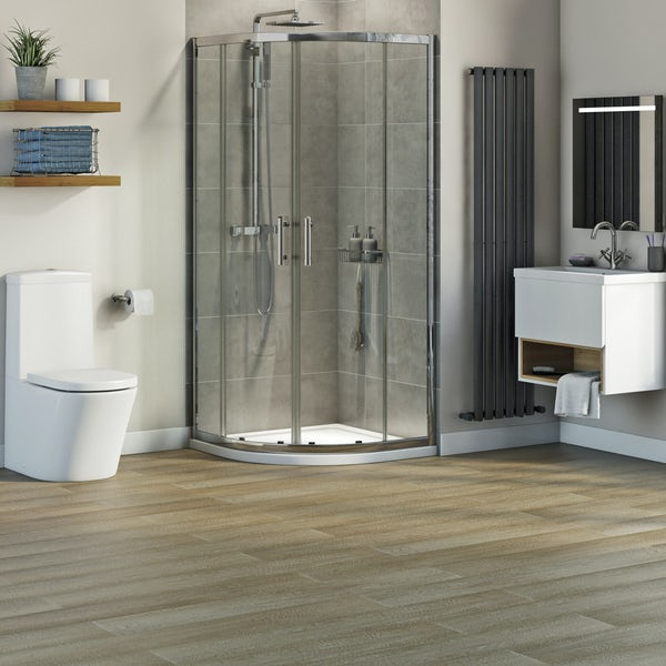 Mode Tate complete quadrant shower enclosure suite