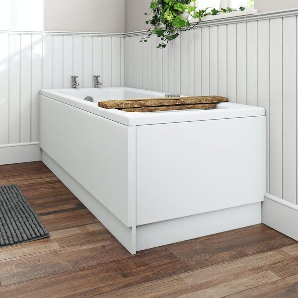 Orchard reinforced acrylic bath end panel