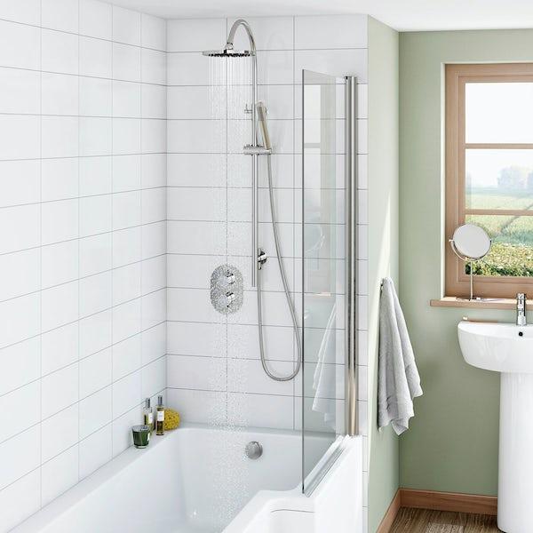 Mode Harrison thermostatic shower valve shower bath set