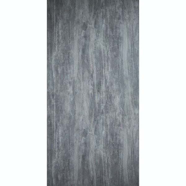 Showerwall Washed Charcoal waterproof proclick shower wall panel