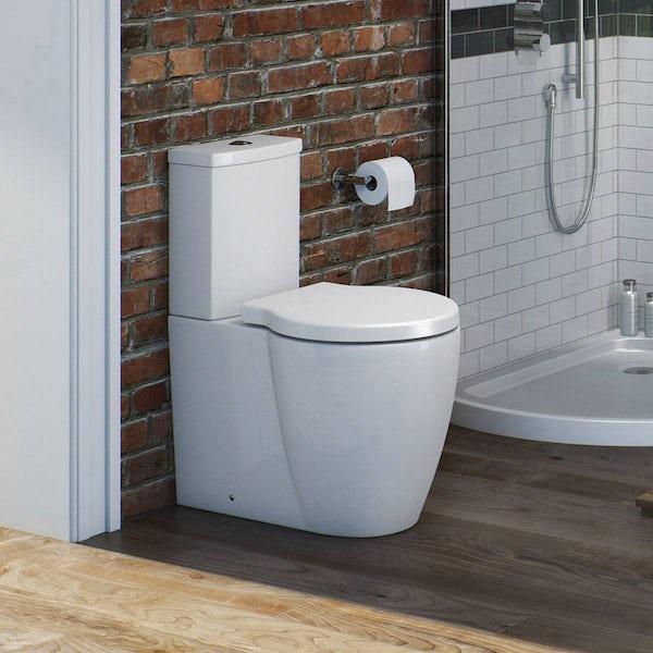 Maine Close Coupled Toilet inc Luxury Soft Close Seat